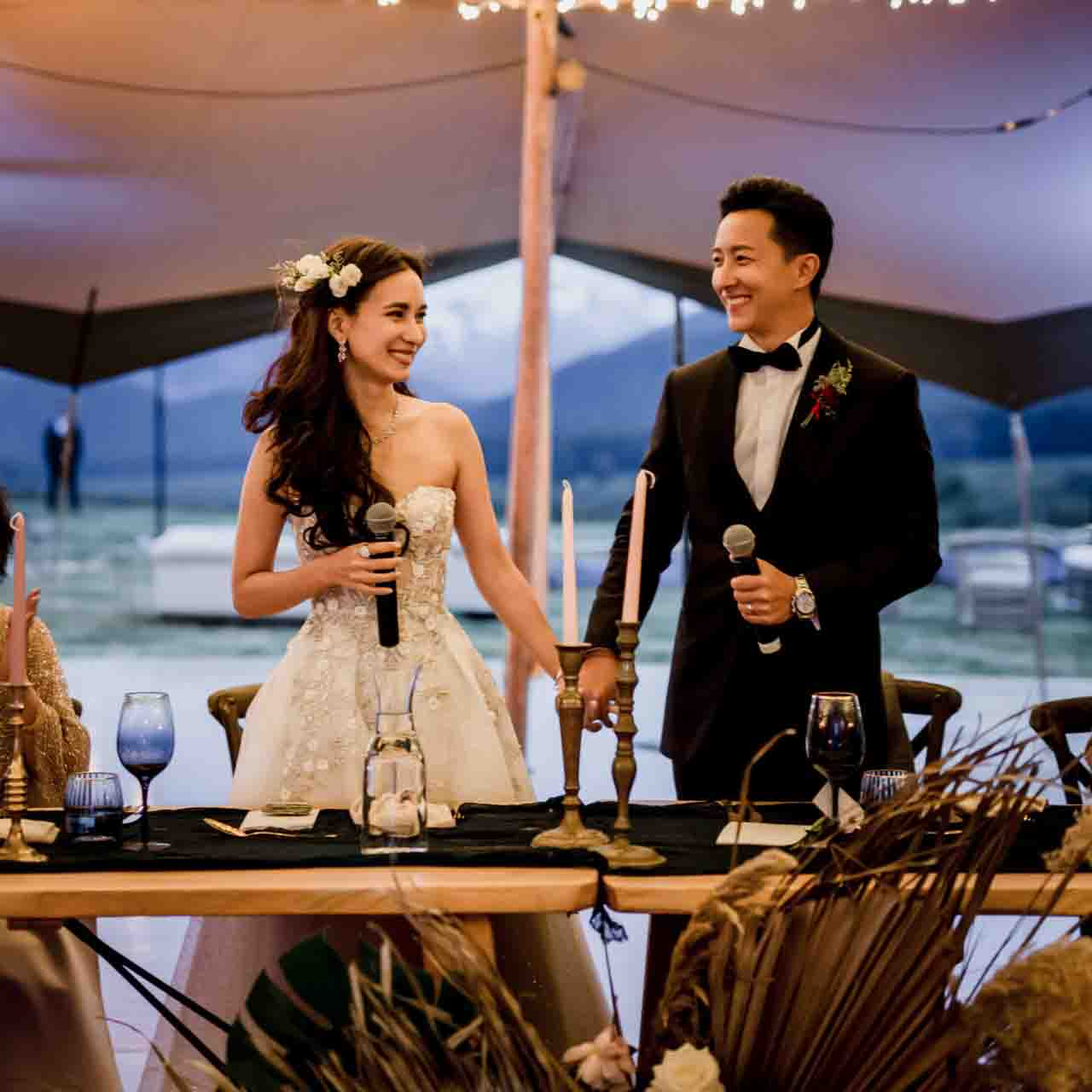 Ex Super Junior Popstar, Han Geng & Arrow Actress, Celina Jade's Stunning & Super Romantic Wedding [Hobbit Movie Set, New Zealand]