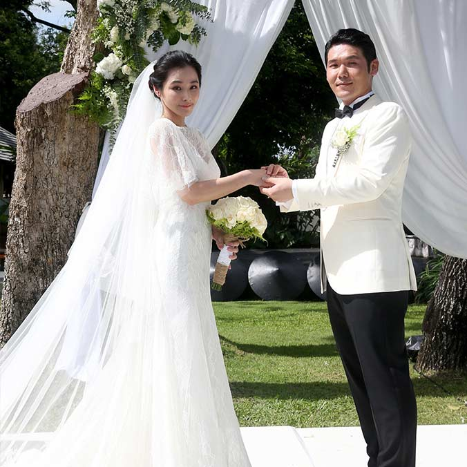 Taiwanese Actress, Tammy Chen & Andy Hsueh at Anantara Chiang Mai Resort, Thailand