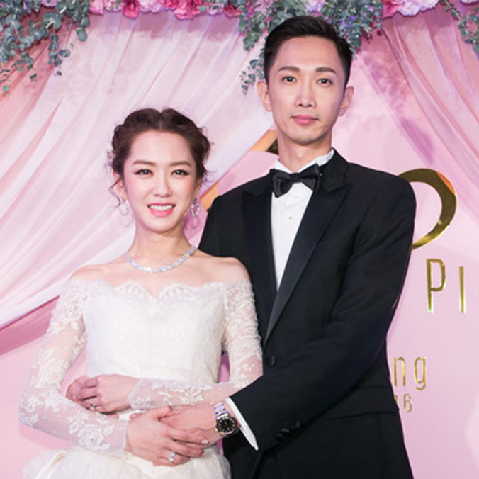 Taiwanese Actress and TV Host, Pink Yang & Jay Hung at Regent, Taipei