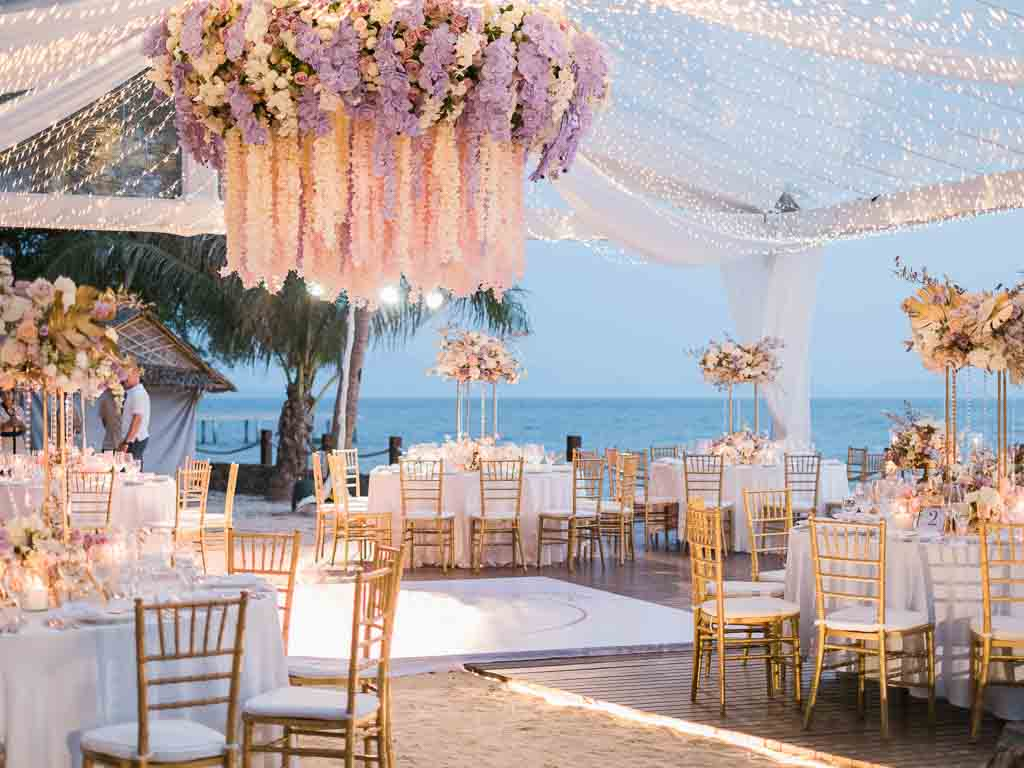 Tropical Luxury Conrad Koh Samui Wedding 72