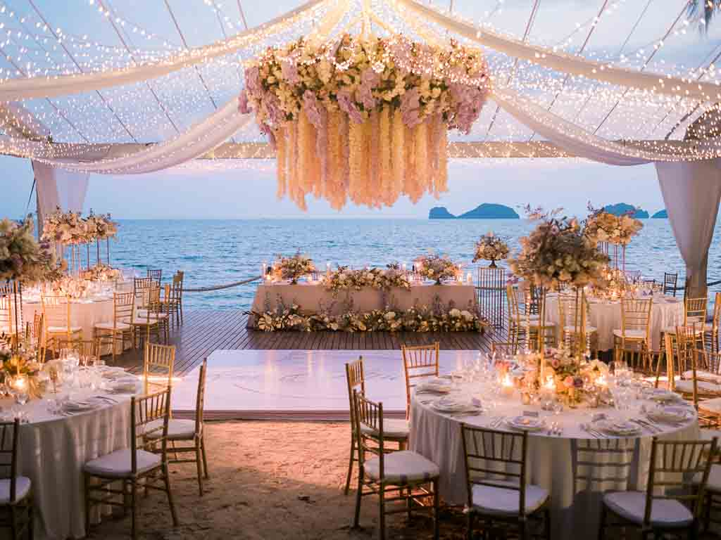 Tropical Luxury Conrad Koh Samui Wedding 73