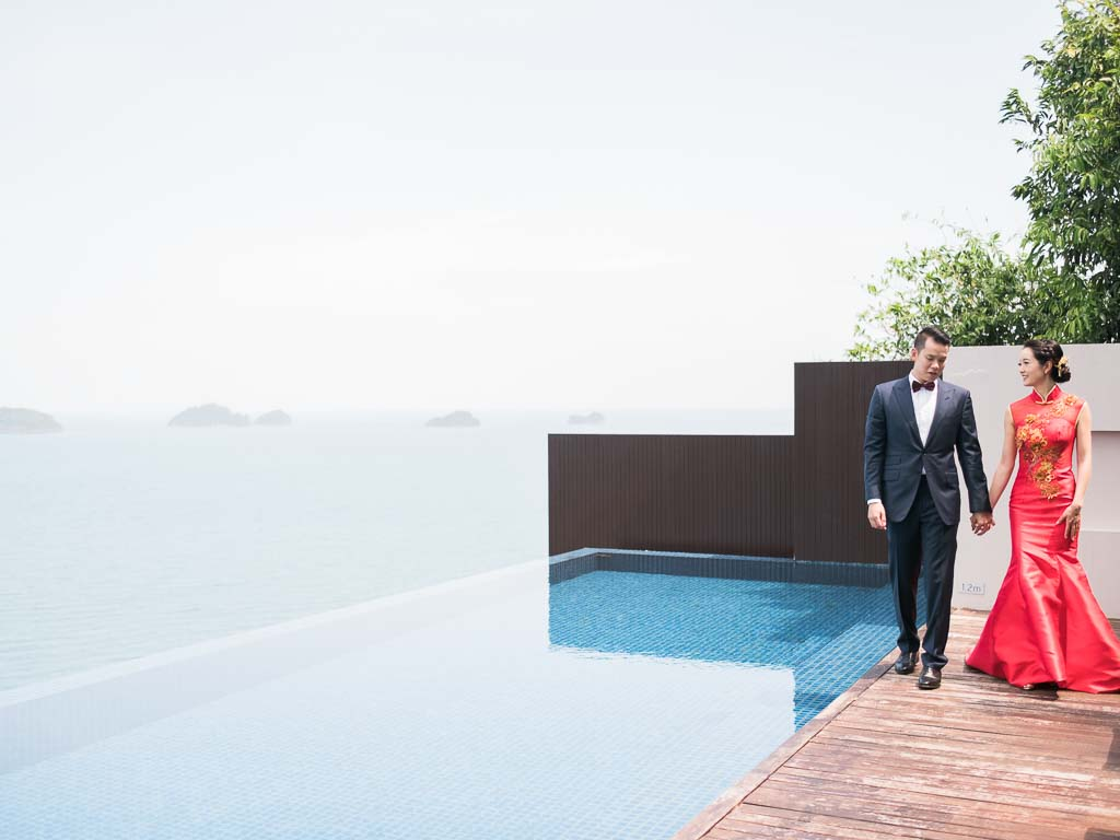 Tropical Luxury Conrad Koh Samui Wedding 19