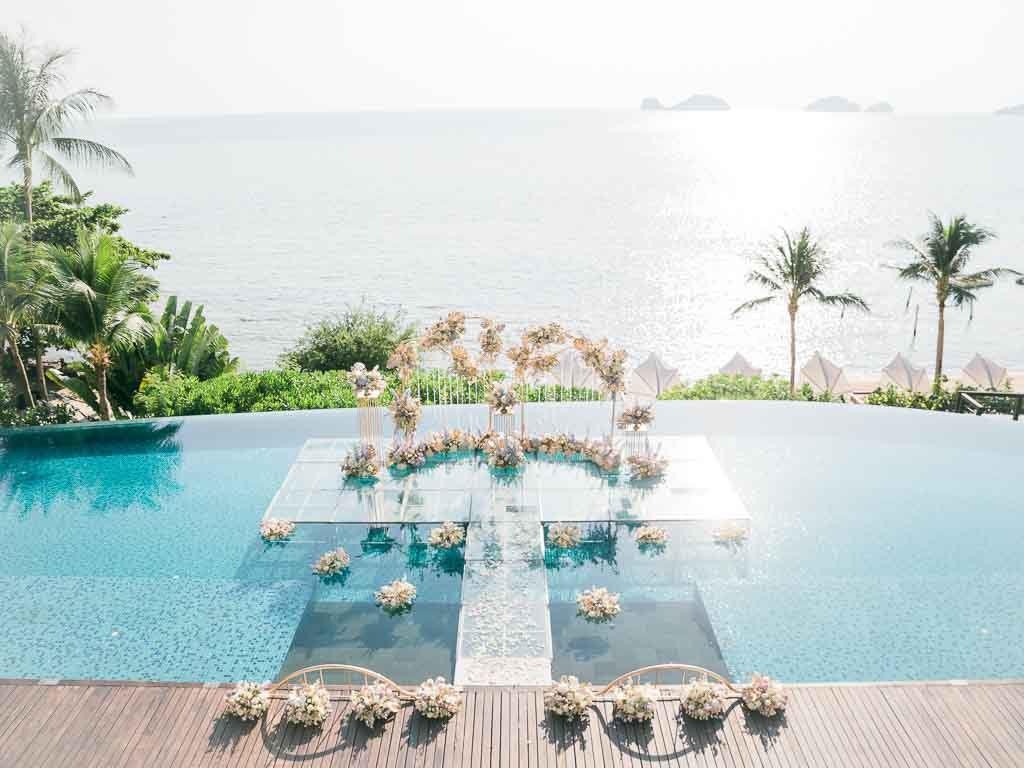 Tropical Luxury Conrad Koh Samui Wedding 43