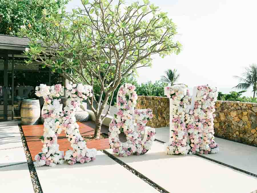 Tropical Luxury Conrad Koh Samui Wedding 124