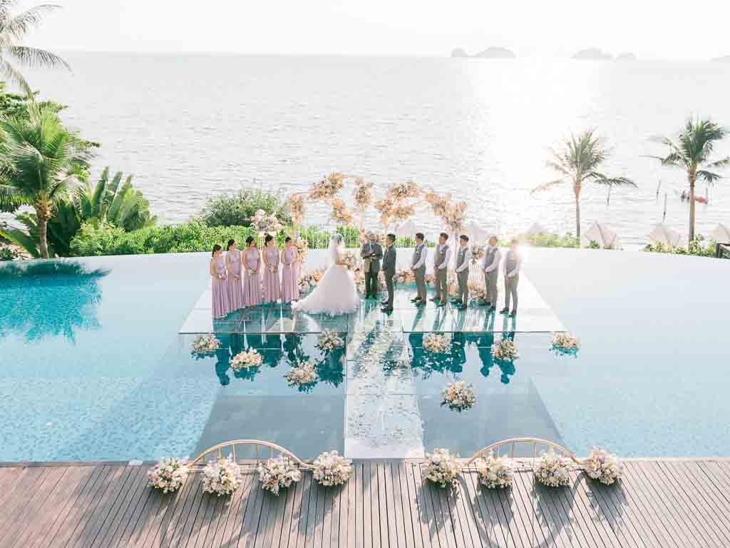Tropical Luxury Conrad Koh Samui Wedding 55