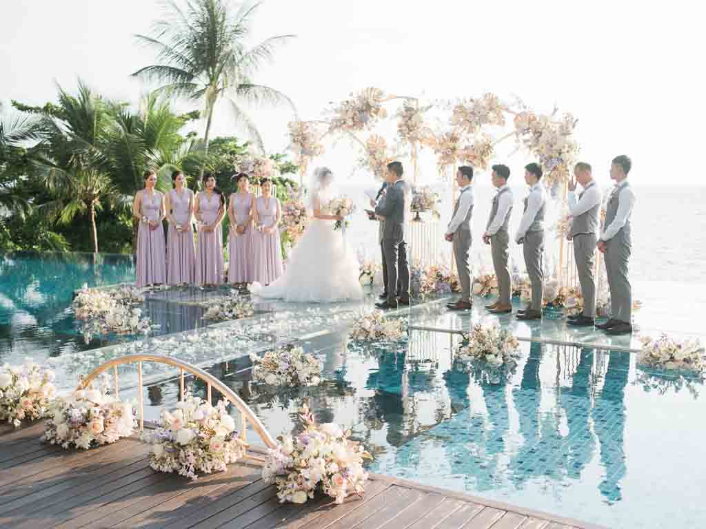 Tropical Luxury Conrad Koh Samui Wedding 56