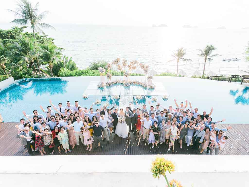 Tropical Luxury Conrad Koh Samui Wedding 61