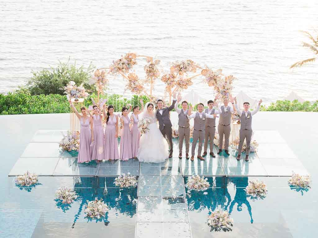 Tropical Luxury Conrad Koh Samui Wedding 63
