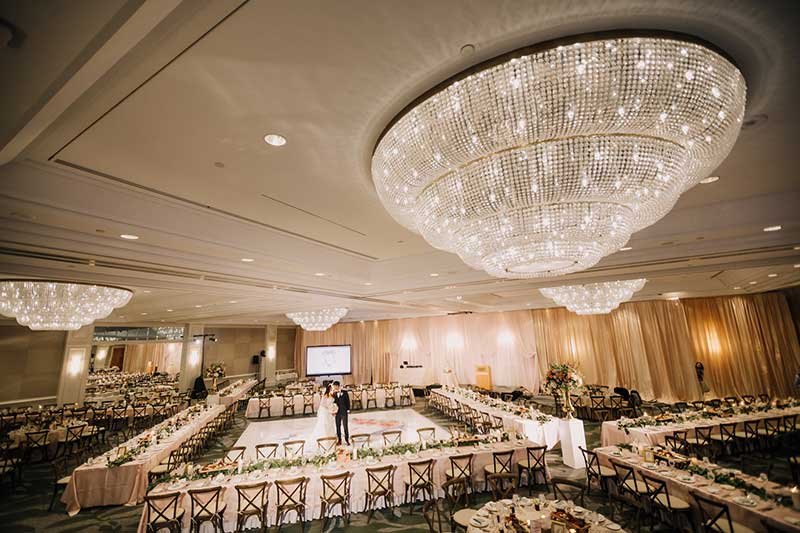 Vancouver Fairmont Waterfront Hotel Wedding Ceremony Reception Chinese Banquet 42