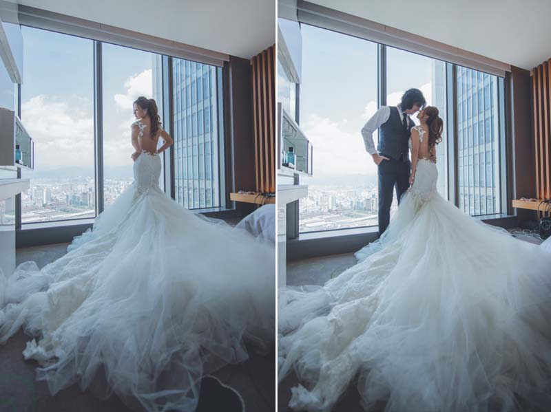 w hotel taipei wedding venue price package example review 5