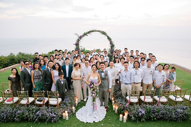 Paresa Phuket Resort Villa Wedding 30
