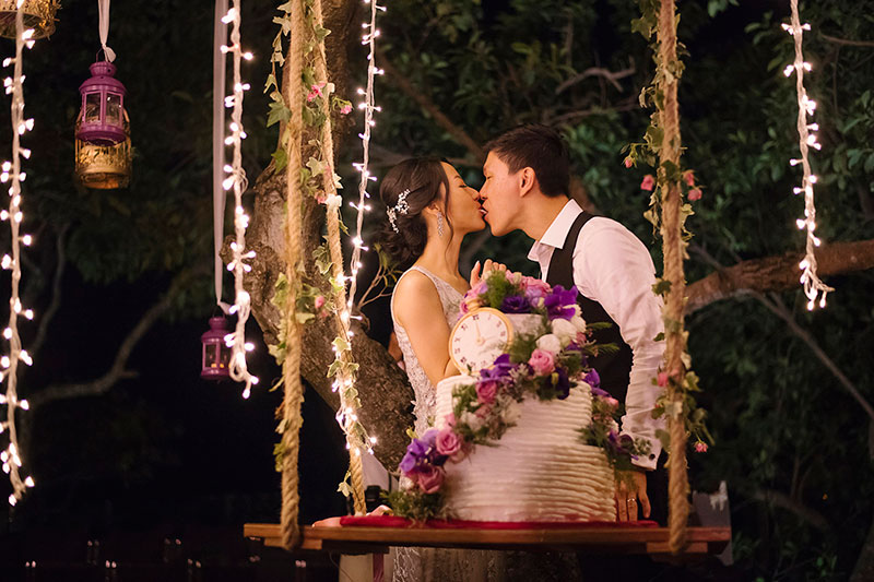 Paresa Phuket Resort Villa Wedding 47