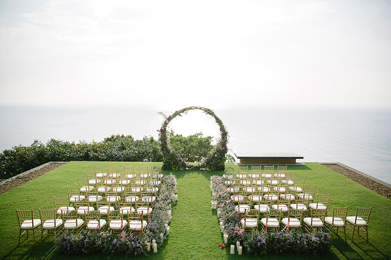 Paresa Phuket Resort Villa Wedding 12
