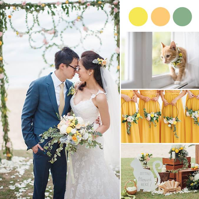 The Cutest Full-On Cat Themed Destination Wedding in Phuket - A Must-See for Cat Lovers