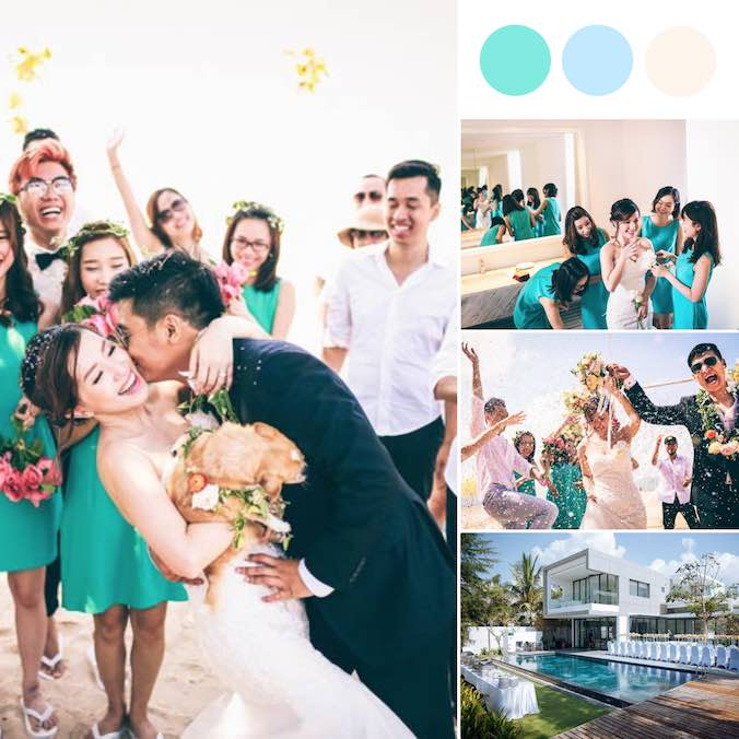 A Simple, On-Sand Beach Wedding in Ho Tram Sanctuary Resort, Vietnam