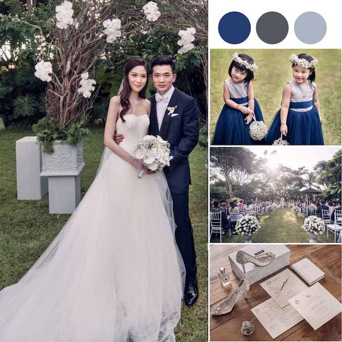 A Gracefully Elegant Civil Ceremony & Garden Wedding You Won't Want to Miss