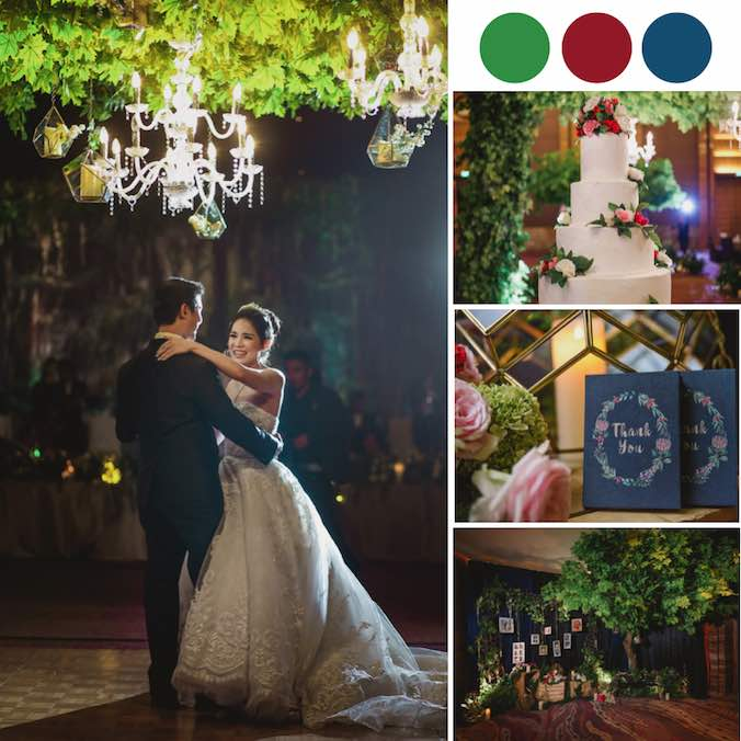 An Enchanted Forest Wedding in a Jakarta Hotel Banquet Ballroom