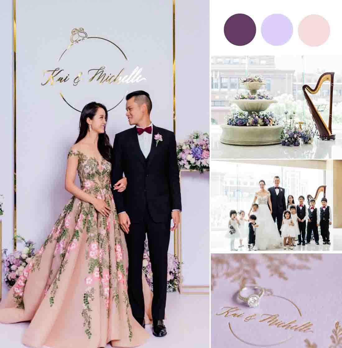 Our Founder's Elegant Garden Themed Ballroom Wedding [Le Méridien Taipei]