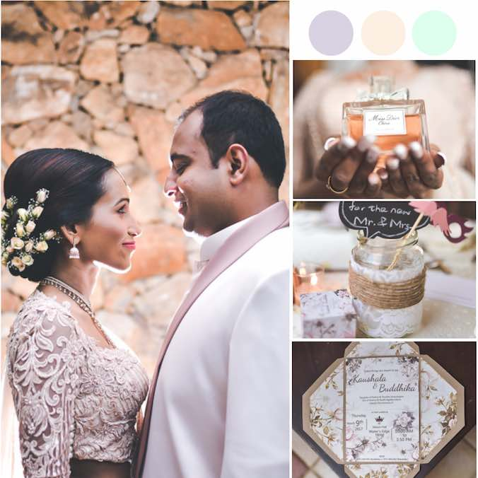 You'll Fall in Love With All the Details of This Dreamy Wedding in Sri Lanka
