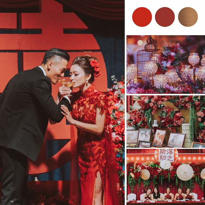 This Penang Malaysian Wedding Took The 'Old Shanghai' Wedding Theme To Another Level