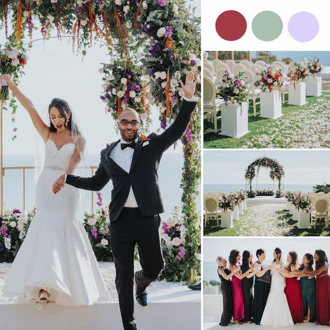 A Classic Phuket Villa Wedding with Stunning Pops of Colour [Villa Aye]