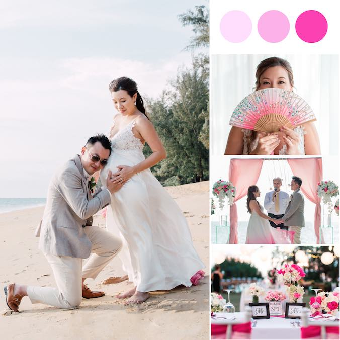 A Mommy-To-Be's Pretty Pink Wedding That Stole Our Hearts