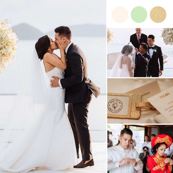 [VIDEO] The Prettiest Filipino + Vietnamese Destination Wedding You've Ever Laid Eyes On