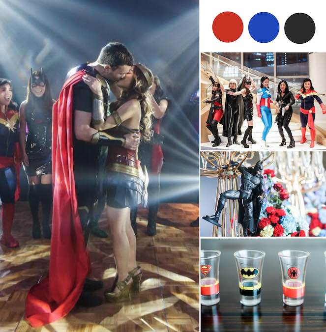 This Super Hero Themed Wedding Is Literally The Coolest Thing Ever! [Shangri-la At The Fort, Manila]