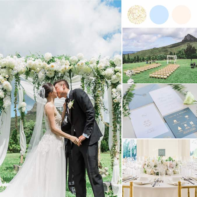 An Earthy, Rustic, Mountainside Wedding in Kenting, Taiwan