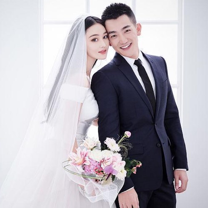 Chinese Actress, Viann Zhang & He Jie's 'Art Gallery' Inspired Wedding at The Peninsula Hotel, Shanghai