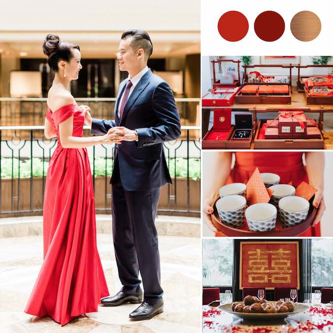 An Intimate Traditional Chinese Tea Ceremony That Took Place in the Home of Asia Wedding Network's Founder