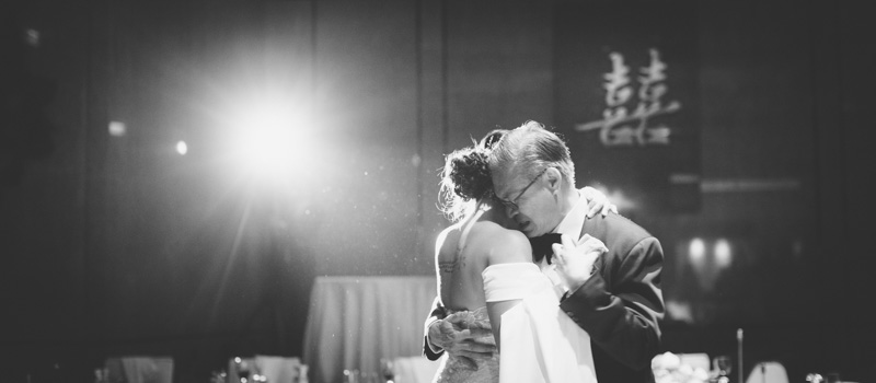Our Bride only booked her photographer until 9PM but the father and daughter dance was scheduled to start at 9:15PM. We convinced the photographer to stay and great moments like this were captured...and now, never forgotten. #negotiatinglikeapro
