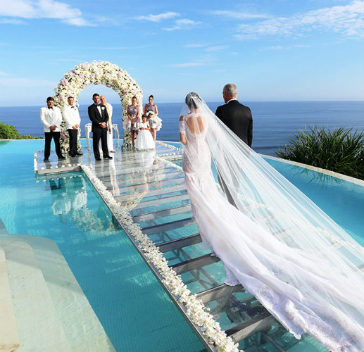 Looking For An 'On Water' Bali Wedding Venue? Here's 11 Places to Tie The Knot On Top Of A Pool