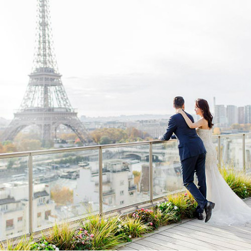 The Dreamiest Paris Prewedding Shoot You've Ever Seen! [At Shangri-la Paris]