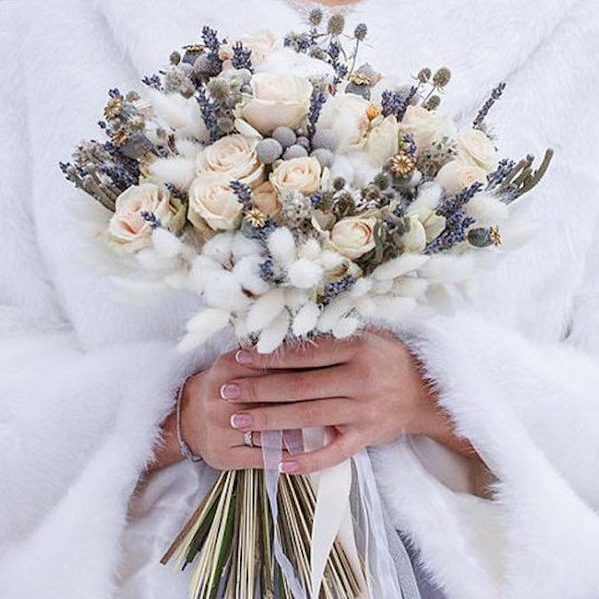 13 Alternative, Non-Traditional Bridal Bouquets That Are Creative & Unusual (And Last Forever!)