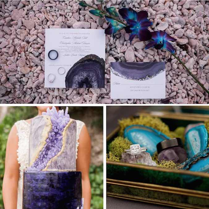 Geode Inspired Weddings: 9 Creative Ideas You'll Want to Know