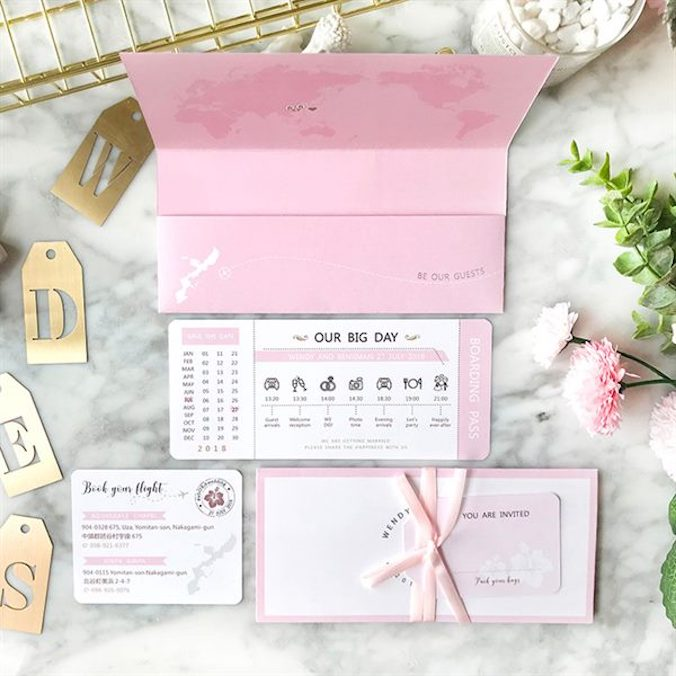 [VIDEO] Airplane Ticket Wedding Invitations: A Must-Have For Any Destination Wedding!