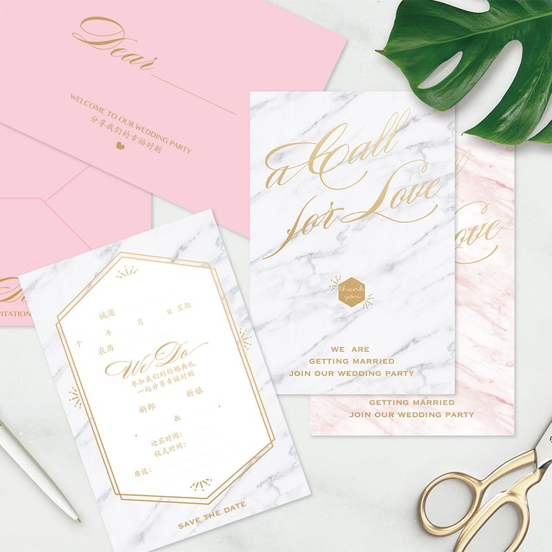7 Marble Wedding Invitation Designs That Have Us #Obsessed