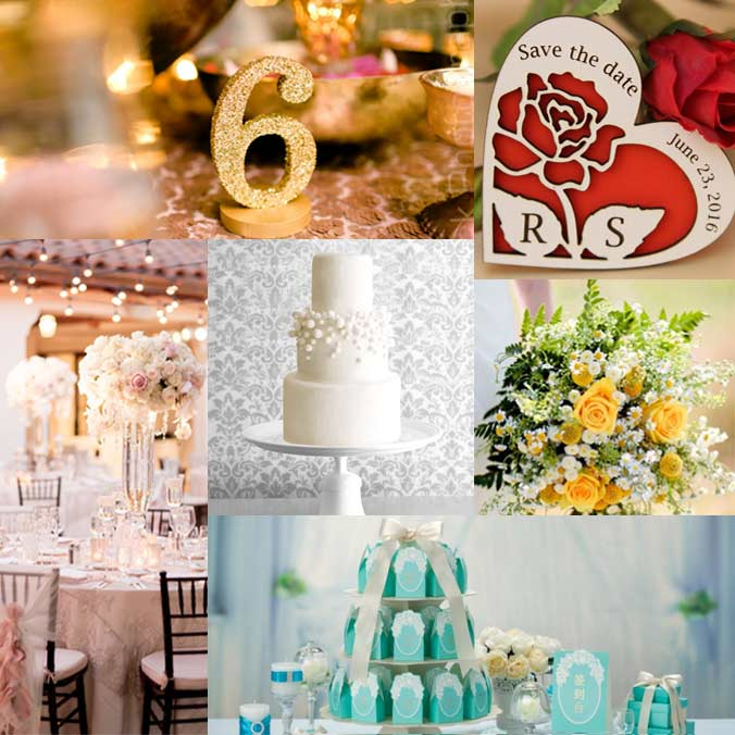 6 Common Wedding Colors & Their Meanings