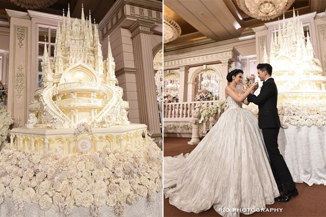8 Mind-Blowing Celebrity Wedding Cakes for Some Major #Cakespiration ...