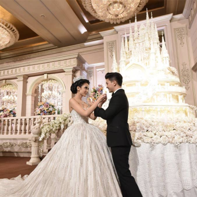 filipino celebrity wedding cakes 8 mind blowing wedding cakes for some major 14233