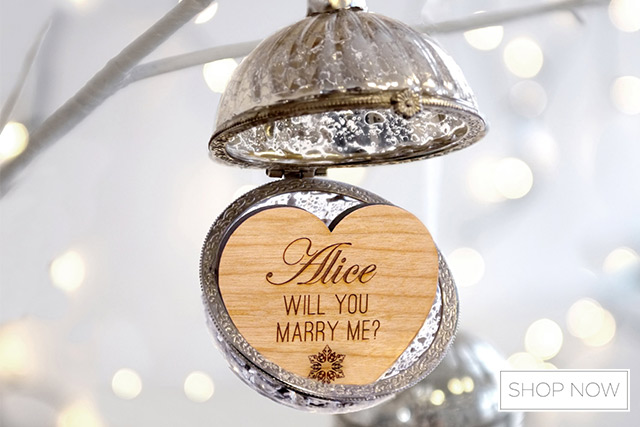 Super Creative Christmas Proposal Ideas 1