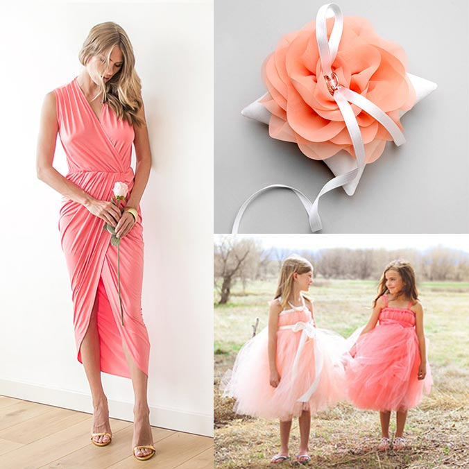 7 Coral Colored Wedding Inspirations for Your Upcoming Summer Wedding