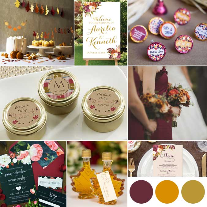 Fall Wedding Colors: 11 Wedding Decor Items You'll Love