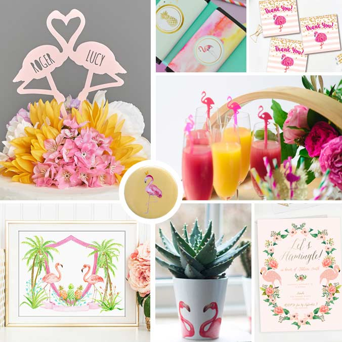 9 Flamingo Themed Bridal Shower Ideas for the Summer