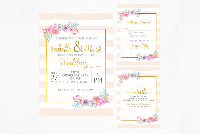 15 Pretty Floral Wedding Invitation Sets That Make You Want To Have A Garden Wedding