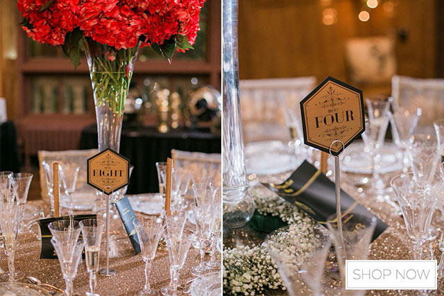 The Great Gatsby Themed Wedding Decoration 5