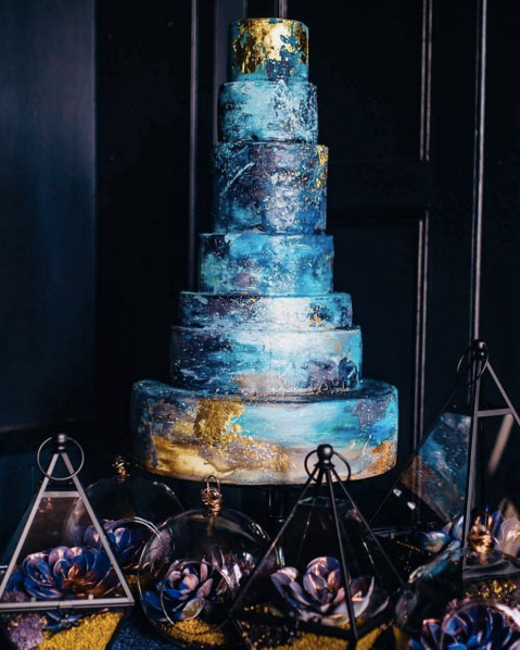 Beautiful And Unique Wedding Cake Inspirations On Instagram 1