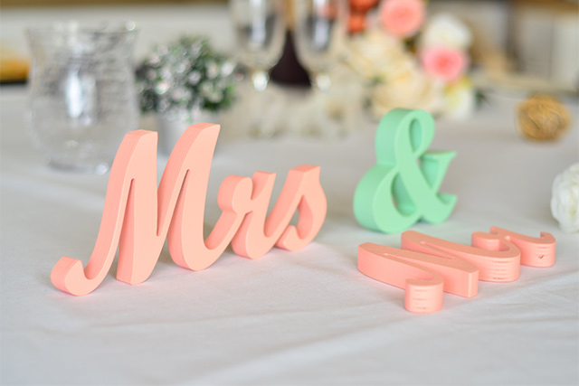 Peach And Mint Wedding Color 1