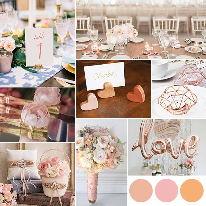 Rose Gold, Blush, and Peach: 12 Decor Items Using This Romantic Color Palette